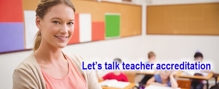 Teaching strategies to help teachers get accredited