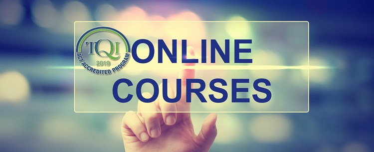 2019 TQI accredited online courses