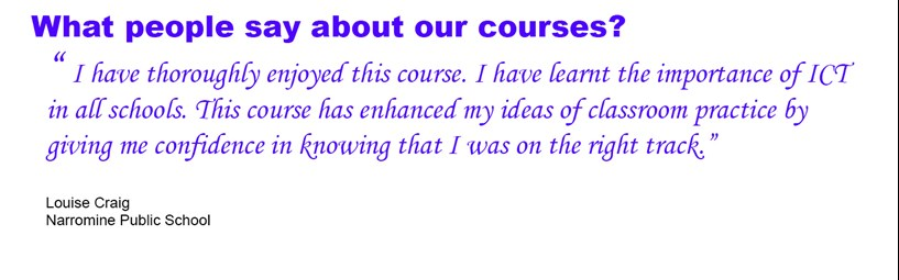 Teacher testimonial online professional development for teachers Early Childhood Education