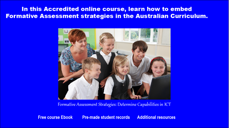 Formative Assessment online course
